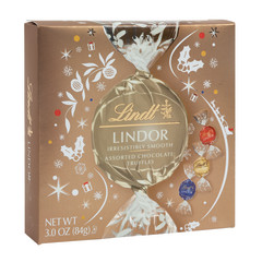 LINDT LINDOR ASSORTED TRUFFLES ICON 3.8 OZ GIFT BOX