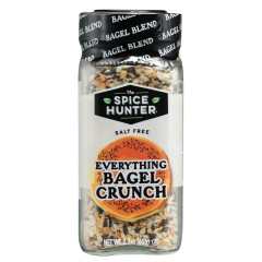 SPICE HUNTER SALT FREE EVERYTHING BAGEL CRUNCH 2.3 OZ JAR