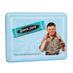 BLACK JACK GUM 4.4 OZ TIN