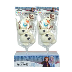 DISNEY FROZEN 2 OLAF GLITTER MARSHMALLOW POP 3.1 OZ