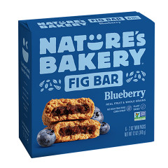NATURE'S BAKERY BLUEBERRY FIG BAR 6 PC 12 OZ BOX
