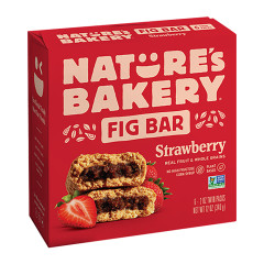 NATURE'S BAKERY STRAWBERRY FIG BAR 6 PC 12 OZ BOX