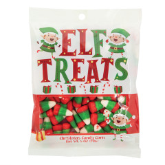 AMUSEMINTS ELF TREATS 5 OZ PEG BAG