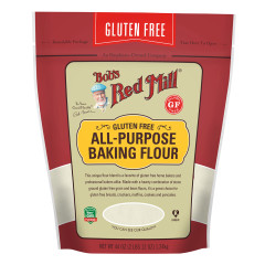 BOB'S RED GLUTEN FREE ALL PURPOSE BAKING FLOUR 44 OZ POUCH