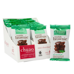 CHUAO DARK CHOCOLATE MINI MINTFULLY BROWNIE 0.39 OZ BAR