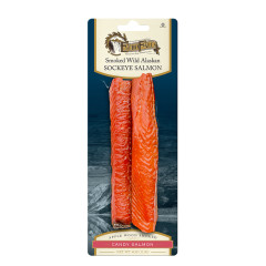 ECHO FALLS SOCKEYE CANDY SALMON 4 OZ