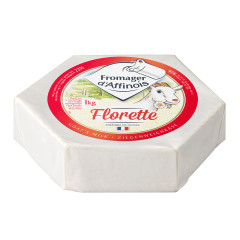 FROMAGER FLORETTE SOFT RIPENED GOAT CHEESE 1 KG