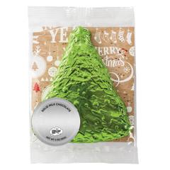 AMUSEMINTS MILK CHOCOLATE FOILED CHRISTMAS TREE 3 OZ