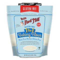 BOB'S RED MILL GLUTEN FREE 1 TO 1 BAKING FLOUR 64 OZ BAG