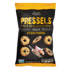 PRESSELS PRETZEL CHIPS EVERYTHING 7.1 OZ BAG