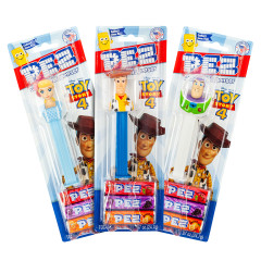 PEZ TOY STORY ASSORTMENT BLISTER PACK 0.87 OZ