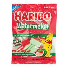 HARIBO WATERMELON 4.1 OZ PEG BAG