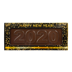 AMUSEMINTS MILK CHOCOLATE HAPPY NEW YEAR 2020 4.5 OZ BAR