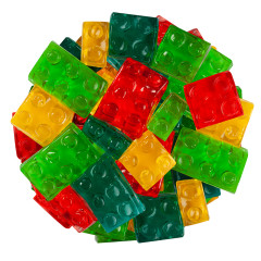 CLEVER CANDY 3D GUMMY BUILDING BLOCKS