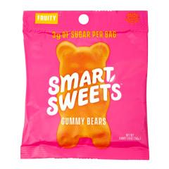 SMARTSWEETS FRUITY GUMMY BEARS 1.8 OZ PEG BAG