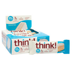 THINK! HIGH PROTEIN COCONUT CAKE 2.1 OZ BAR