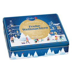 BAHLSEN TRADITIONAL HOLIDAY COOKIE 10.6 OZ HOLIDAY TIN