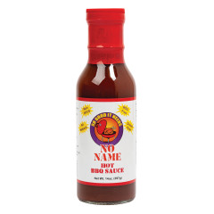 NO NAME HOT BBQ SAUCE 14 OZ BOTTLE *FL DC ONLY*