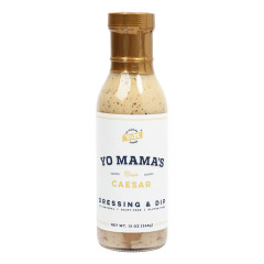 YO MAMA'S CLASSIC CAESAR DRESSING & MARINADE 13 OZ BOTTLE *FL DC ONLY*
