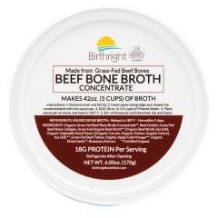 BIRTHRIGHT BEEF BONE BROTH CONCENTRATE 6 OZ TUB *FL DC ONLY*