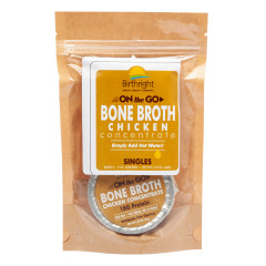 BIRTHRIGHT CHICKEN BONE BROTH CONCENTRATE 2 OZ POUCH *FL DC ONLY*