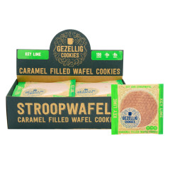 GEZELLIG COOKIES KEY LIME STROOPWAFELS 16 CT *FL DC ONLY*