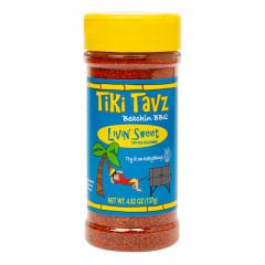 TIKI TAVZ BEACH BBQ LIVIN SWEET DRYRUB 4.48 OZ