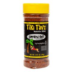 TIKI TAVZ BEACH BBQ SMOKE OUT DRYRUB 4.93 OZ