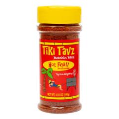 TIKI TAVZ BEACH BBQ HOT FIIYA DRYRUB 4.93 OZ