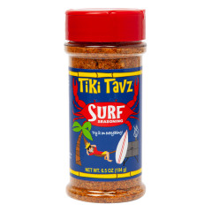 TIKI TAVZ BEACH BBQ SURF SEASONING 6.5 OZ