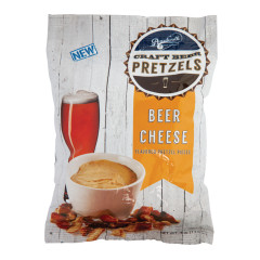 BOARDWALK BEER CHEESE FLAVOR PRETZEL PIECES 4 OZ BAG *FL DC ONLY*