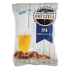 BOARDWALK IPA BEER FLAVOR PRETZEL PIECES 4 OZ BAG *FL DC ONLY*