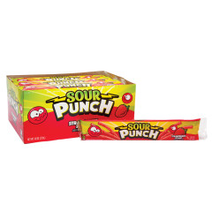 SOUR PUNCH STRAWBERRY STRAWS 2 OZ