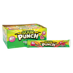 SOUR PUNCH WATERMELON STRAWS 2 OZ