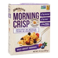 JORDANS ORGANIC WILD ABOUT BERRIES MORNING CRISP 12.5 OZ BOX