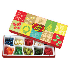 JELLY BELLY 10 FLAVOR CHRISTMAS 4.25 OZ GIFT BOX WITH SLEEVE