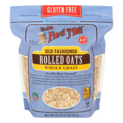 BOB'S RED GLUTEN FREE OLD FASHION ROLLED OATS 32 OZ POUCH