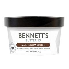 BENNETT'S BUTTER CO. MUSHROOM BUTTER 6 OZ TUB