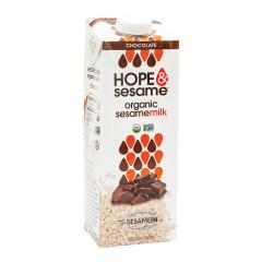 HOPE & SESAME ORGANIC SESAME CHOCOLATE MILK 33.8 OZ