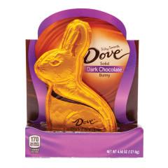 DOVE DARK CHOCOLATE BUNNY 4.5 OZ