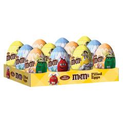 M&M'S MILK CHOCOLATE PLASTIC EASTER EGGS 0.93 OZ