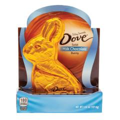DOVE MILK CHOCOLATE 4.5 OZ BUNNY