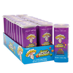 WARHEADS SOUR BOOMS CHEWY 1.75 OZ