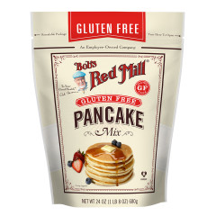 BOB'S RED MILL GLUTEN FREE PANCAKE MIX 24 OZ POUCH