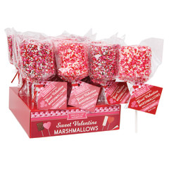 GIANT CONFETTI MARSHMALLOW 1.5 OZ LOLLIPOP