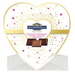 GHIRARDELLI CARAMEL HEART COLLECTION 7.9 OZ BOX