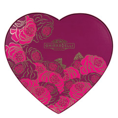 GHIRARDELLI CARAMEL DUET HEART 5.6 OZ BOX
