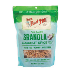 BOB'S RED COCONUT SPICE GRANOLA 11 OZ PEG BAG