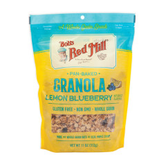 BOB'S RED LEMON BLUEBERRY GRANOLA 11 OZ PEG BAG