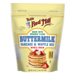 BOB'S RED BUTTERMILK PANCAKE MIX 24 OZ POUCH